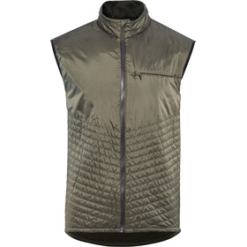 Craft Urban Run Gilet da corsa Uomo marrone/verde oliva